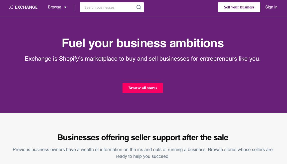 shopify exchange marketplace freerangeentrepreneur_com